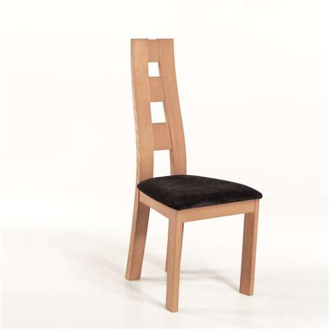 chaise de sejour chaise de séjour de fabrication française tissu et bois