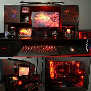 17 Best Images About Epic PC Gaming Setups On Pinterest