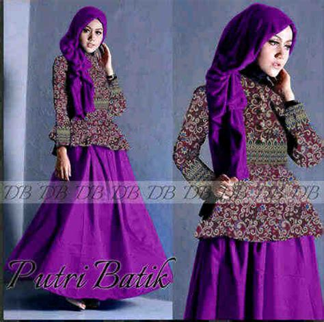 Permalink to Model Baju Gamis Satin Polos