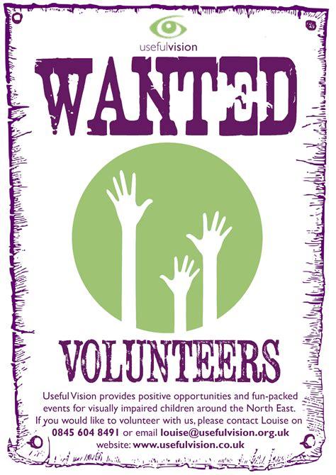 Volunteers Wanted Poster - VODA