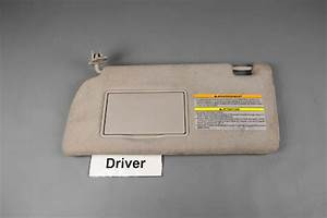 Repair Loose Visor On A 2012 Nissan Pathfinder
