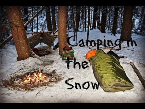 Hot Tent Wood Stove Bushcraft Overnight Winter Survival