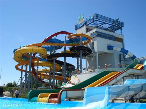 livu aquapark latvia travel