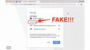 Warning  Google Phishing