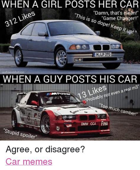 Car Girl Meme - pics for gt car guy meme