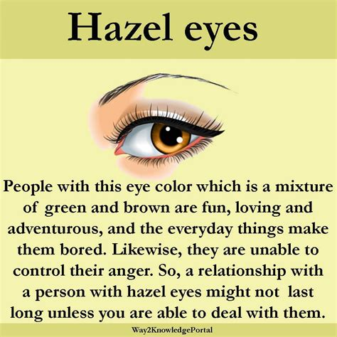 what does my eye color say about me what the color of your says about knowledge