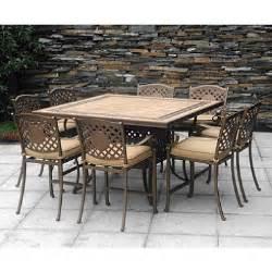 chateau patio high dining set 9 pc sam s club