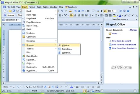 free office microsoft office 2003 look like kingsoft office suite askvg