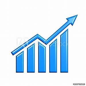 3d Business Growth Bar Graph Curve   Finance  Graph