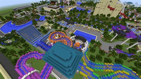 Minecraft's Biggest Water Park!?