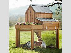 Cedar Chicken Coop and Run with Garden Planter The Green
