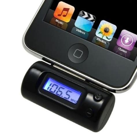 fm transmitter for iphone fm transmitter with car charger remote for iphone 4 3gs 3g