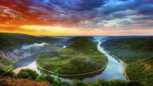 Saar River Beautiful Nature Wallpapers HD