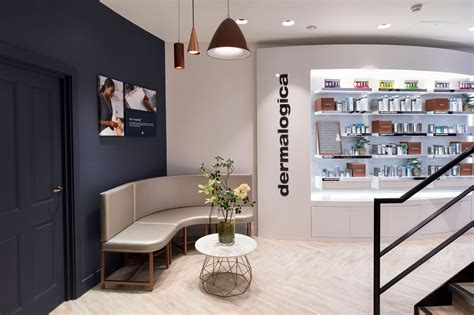 Corian Store by Dermalogica Flagship Store Uses Corian 174 Design To Create