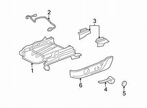 Ford Mustang Seat Track Cover  Manual  Outer  Manual