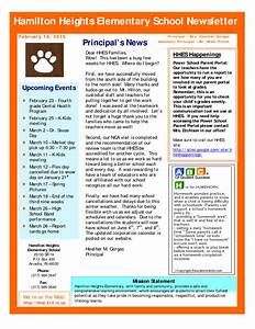 Pin sample school newsletter templates image search for Primary school newsletter templates