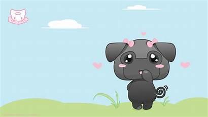 Kawaii Backgrounds Desktop Wallpapers Fondos Panda Friday