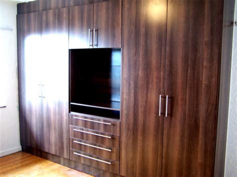 American Wallnut Bedroom Cupboards With  Ee  Tv Ee   Stand