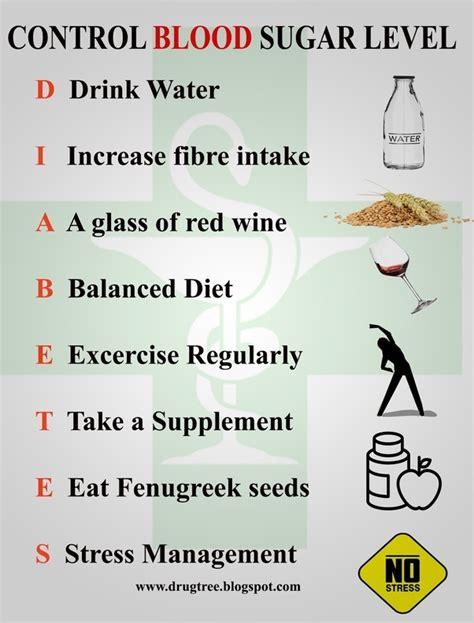 control blood sugar level quora