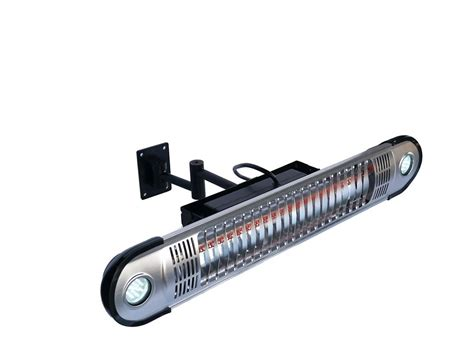 energ wall mounted infrared patio heater with led lights
