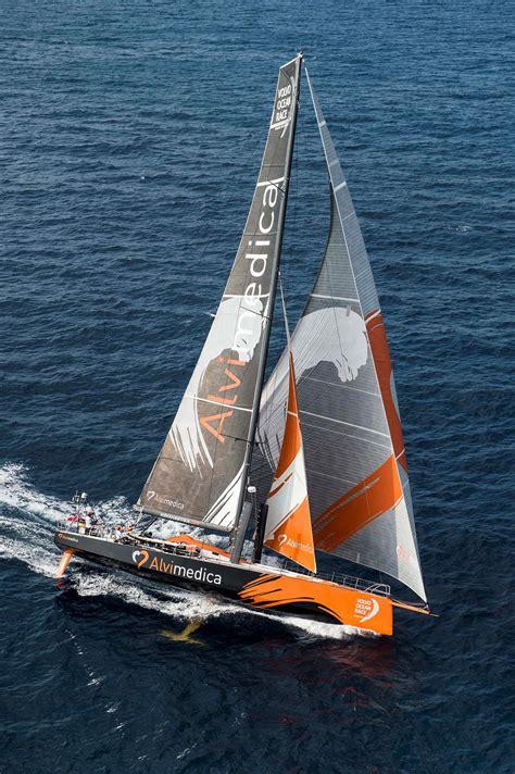 volvo ocean race  dritte etappe dritter sieger