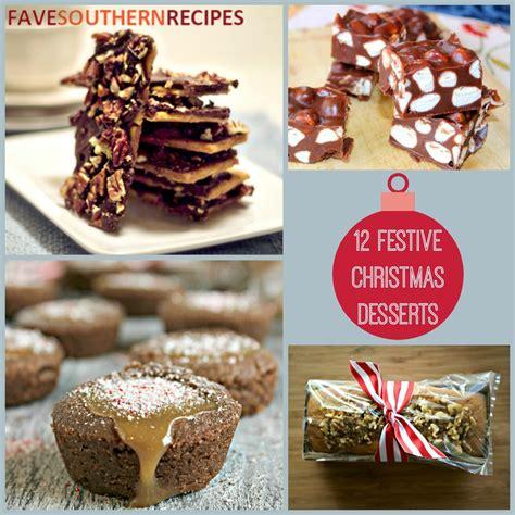 12 festive dessert recipes favesouthernrecipes