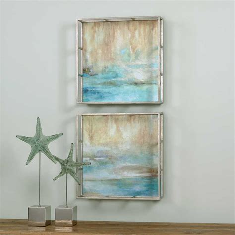Uttermost Through The Mist Abstract Art (twopiece Set