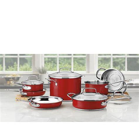cuisinart chefs classic  piece cookware set  hsn