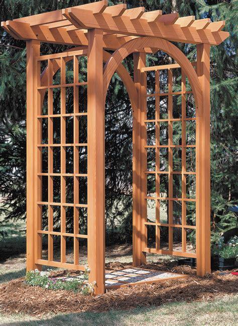 Garden Arbor Plans by Garden Arbor