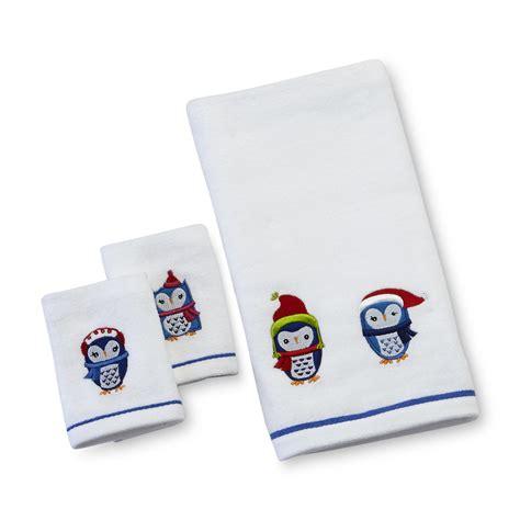 Owl Bath Towel Sets by Kitchen Towels Dish Towels Sears