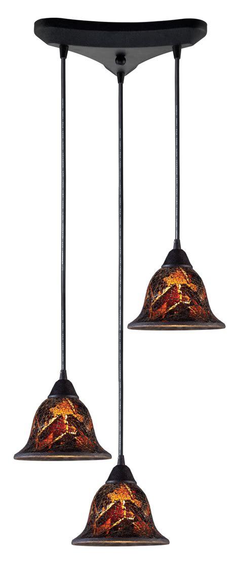 elk lighting 10144 3fs firestorm multi pendant ceiling fixture