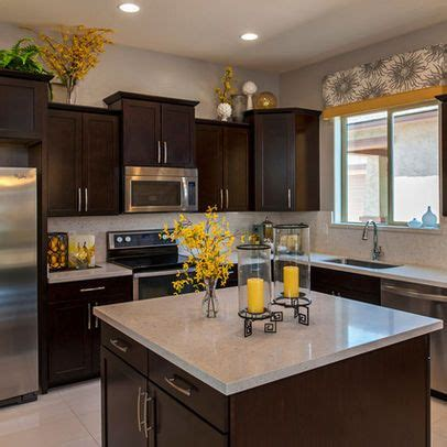 brown kitchen accessories kitchen photos yellow accents design pictures remodel 1829