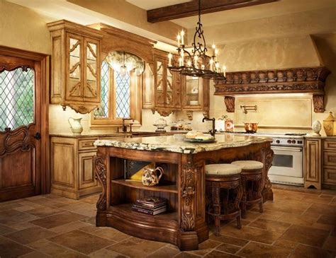 tuscan style kitchen islands 17 best images about world kitchen on pot 6409