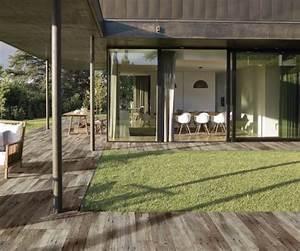 Terrassenplatten Holz Klicksystem : terrassenplatten holzoptik verlegen ~ Michelbontemps.com Haus und Dekorationen