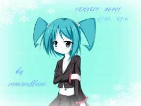 Anime Robot Girl XJ9