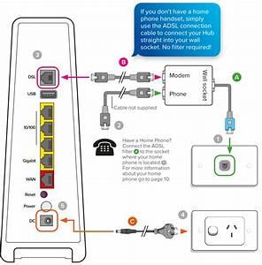 Wiring Diagram Dsl Filter Splitter Nid Wiring