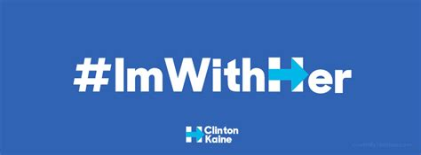 Hillary Clinton Cover by Hillary Clinton Kaine Im With Her Free Facebook Covers