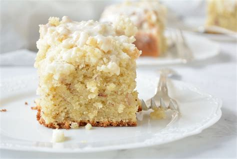 My love of coffee cake started years before i tasted a sip of coffee. Buttery Almond Coffee Cake   Recipe in 2020   Coffee cake ...