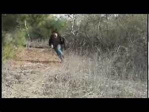 Running through the woods being chased by a mad man - YouTube