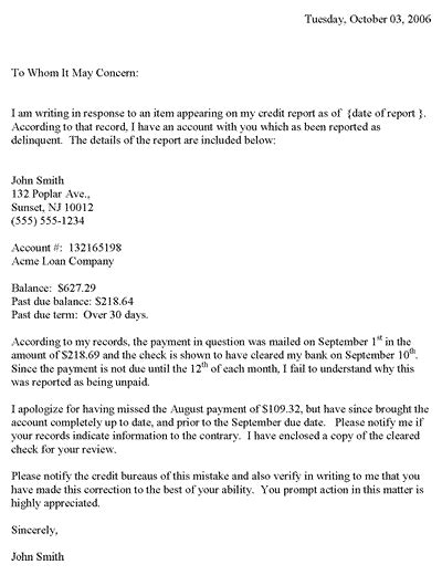 Contractor Complaint Letter - Protecting and informing