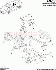 Aston Martin Dbs V12 Rear Suspension Assembly Parts