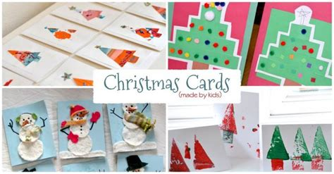 20 Homemade Christmas Cards Made By The Kids Christmas Decorations For Porch Dog Outdoor Room Decor Fondant Cake Decorating Wreaths 1st Tree Images Decorated Trees Easy Table Ideas