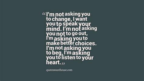 speak  mind quotes warehouse