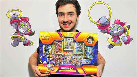ouverture dun enorme coffret pokemon hoopa  david