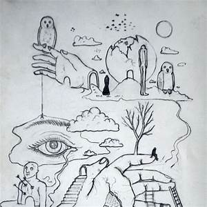 Old school surreal sketch #surreal #surrealism #sketch # ...