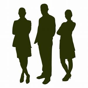 Business people silhouette - Transparent PNG & SVG vector