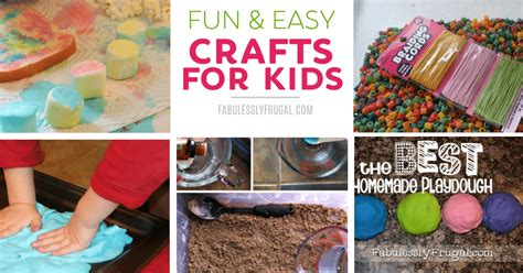 fun  easy crafts  kids    home fabulessly