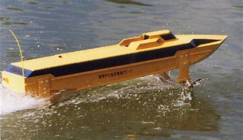 Model Hydrofoil Boat Plans by Hydrofoil Model Photos
