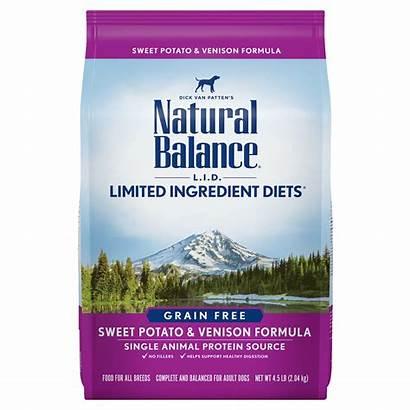 Balance Natural Dog Lid Grain Kibble Venison