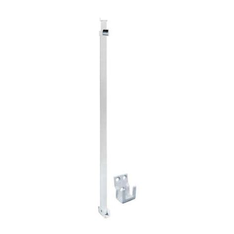 Patio White Sliding Door Security Bar by Prime Line Patio White Sliding Door Security Bar U 9921